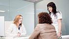 Visita del paziente clinica GIREXX Barcellona